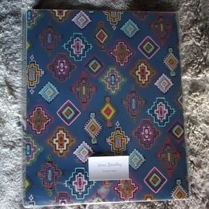 Vera Bradley painted medallions pocket folders.NWT